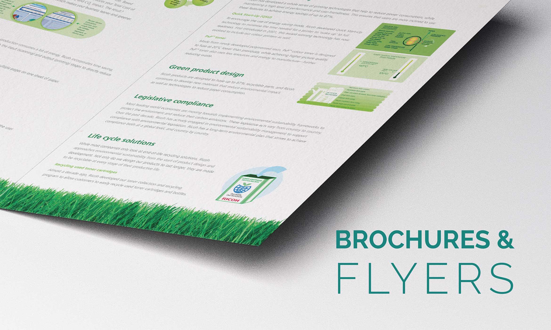 Brochures Flyers - Home