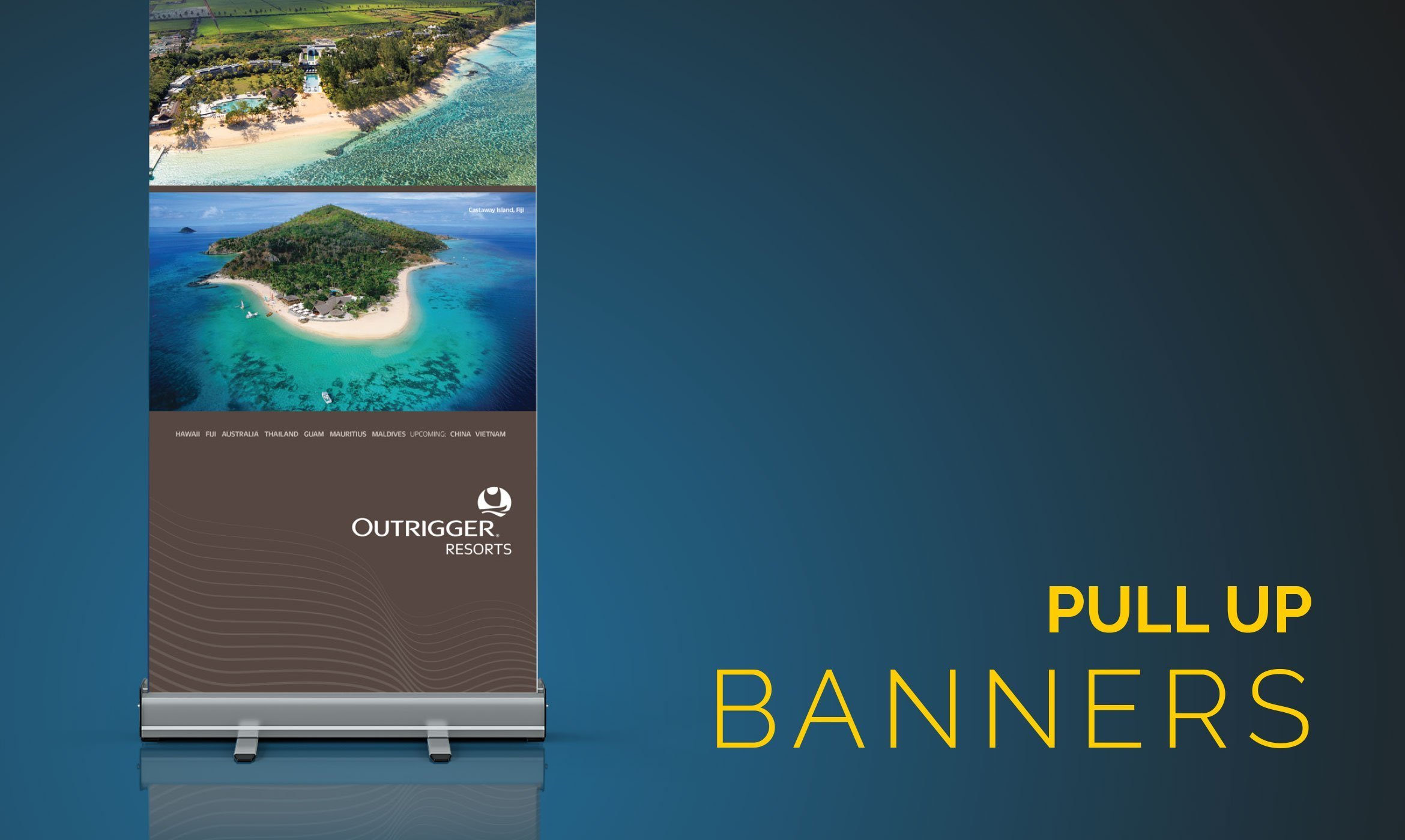 Pull Up Banners 1 - Home