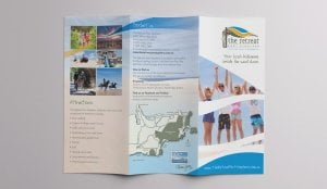 Retreat 1 Brochure 300x174 - The Retreat 6pp DL Brochure