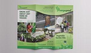 Vegepod Brochure 300x174 - Vegepod 6pp DL Brochure