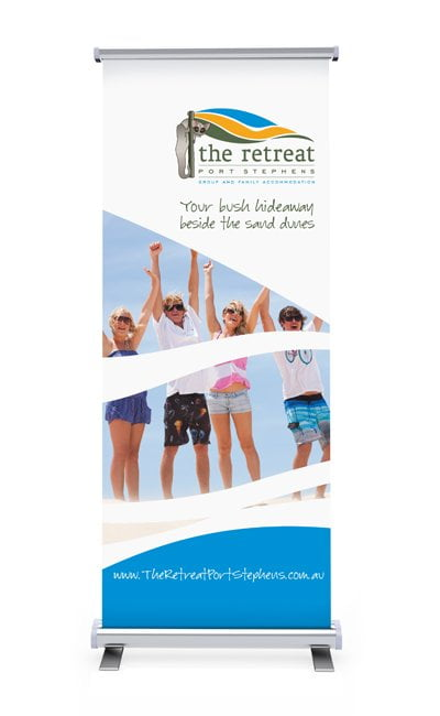the retreat banner - Banners